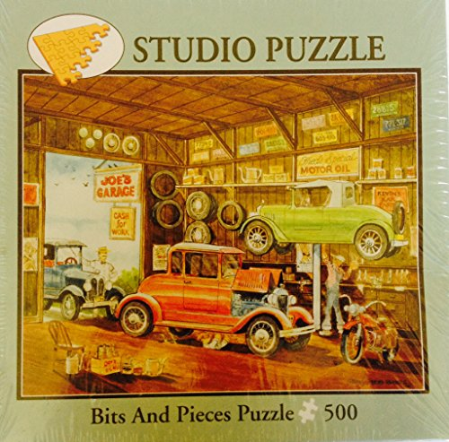 "Joe's Garage - Bits and Pieces Puzzle - 500 pieces - 16"" x 20"""