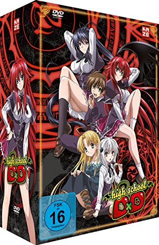 Highschool DxD, DVD