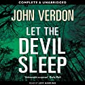 Let the Devil Sleep Audiobook by John Verdon Narrated by Jeff Harding