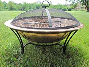 Amazon.com : Copper Fire Pit 24 Inch : Replacement Fire ...