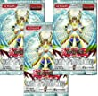 Yu Gi Oh! Light of Destruction Booster Pack Lot (3 Packs - 9 Cards/pack) [Toy]