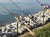 3 Pack Heavy Duty Bank Fishing Rod Holders
