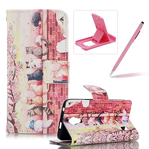 huawei-ascend-y635-magnetic-closure-flip-portable-carrying-casebook-style-pu-leather-foldable-stand-