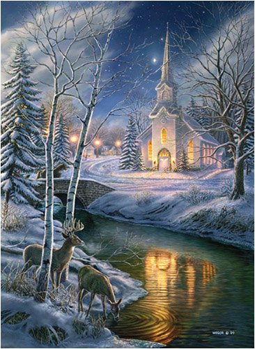 Cheap SunsOut James Meger O Holy Night 1500Pc Jigsaw Puzzle (B000PCKJ4U)