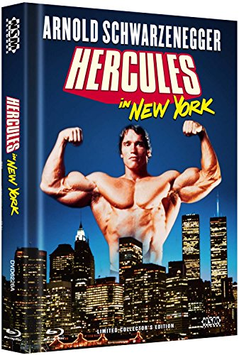 Herkules in New York [Blu-ray + DVD] limitiertes Mediabook Cover A [Limited Collector's Edition]
