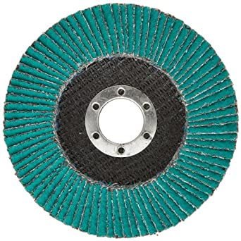 3M Flap Disc 577F, T27 Giant, Alumina Zirconia, Dry/Wet