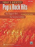 Today's Greatest Pop & Rock Hits: Easy Piano (Today's Greatest Hits)
