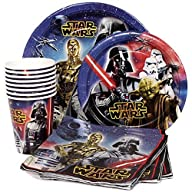 Star Wars Birthday Party Supplies Pac…