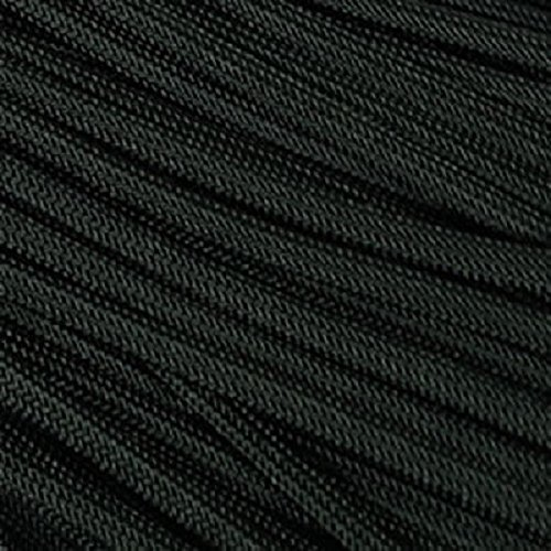 Rothco Type III Commercial Paracord (Black, 550-Pound/100-Feet)