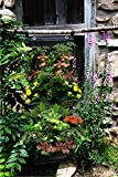 8 Pocket Vertical Garden Planters By Invigorated Living, Waterproof Garden Pots for Indoor & Outdoor Use on Patios, Balconies & Apartments, Easy to Hang & Fill with Flowers, Herbs & Vegetables