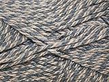 Stylecraft Life Chunky Wool Knitting Yarn 100g Nutmeg Marl 2317
