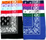 Novelty Bandanas Paisley Cotton Banda...