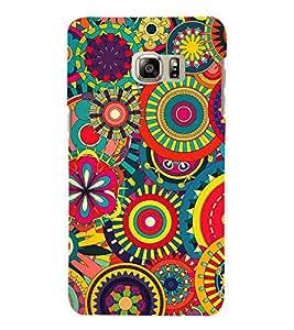 Circular Design 3D Hard Polycarbonate Designer Back Case Cover for Samsung Galaxy Note 7 : Samsung Galaxy Note 7 N930G : Samsung Galaxy Note 7 Duos