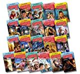 Enid Blyton Modern Famous Five Collection, 21 Books, RRP £104.79 (Treasure Island; Adventuring Again; Run Away Together; Smuggler's Top; A Caravan; Kirrin Island; Camp; Into Trouble; Adventure; Hike Together; Wonderful Time; Sea; Mystery Moor..)