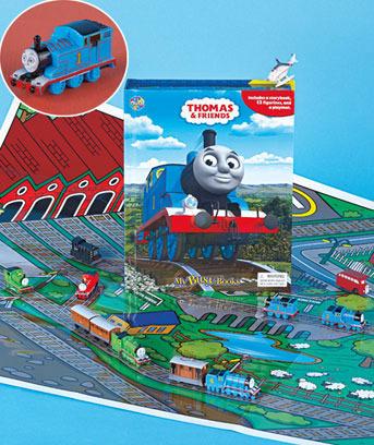 Amazon Com Thomas The Train Storybook 12 Toy Figurines