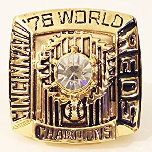 1976 Cincinnati Reds World Championship Ring Replica Ring Size 11 - Pete Rose - Big Red Machine - Shipped from USA. - Cincinnati Reds Memorabilia