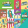 Imaginisce Family Fun Good Times Family Scrapbook Paper