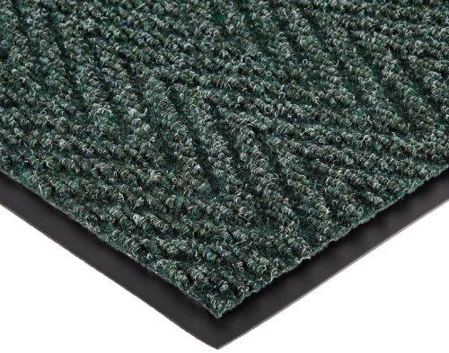 """NoTrax 105 Chevron Entrance Mat, for Lobbies and Indoor Entranceways, 3' Width x 5' Length x 5/16"""" Thickness, Hunter Green at Sears.com"""
