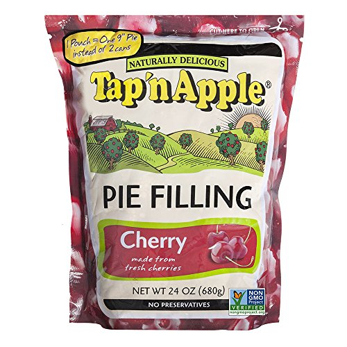 Tap'n Apple Cherry Pie Filling, 24 Ounce (Pack of 6) (Cherry And Apple Pie compare prices)