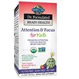 Garden of Life Dr. Formulated Brain Health Attention & Focus for Kids - Watermelon Berry Flavor 60 Chewable Tablets (Tamaño: 60 CT)