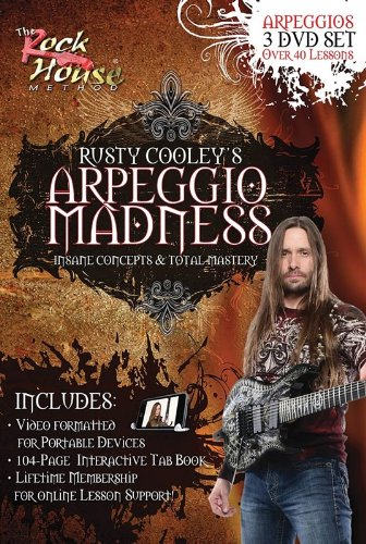 Rusty Cooley: Arpeggio Madness
