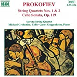 Prokofiev: String Quartets Nos. 1 And 2 / Cello Sonata