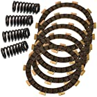 YAMAHA TW200 TW-200 TRAILWAY 200 1987-2013 CLUTCH FRICTION PLATES & 4 SPRINGS