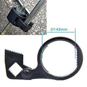 WOWOSS Universal Inner Tie Rod Wrench Repair Removal Tools 27-42mm for Car Truck Vehicle Motorcycle