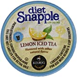 Snapple Diet Iced Tea, Lemon, 22 Count
