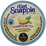 Snapple Diet Iced Tea, Lemon, 22 Count