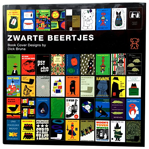 ZWARTE BEERTJES -Book Cover Designs by Dick Bruna
