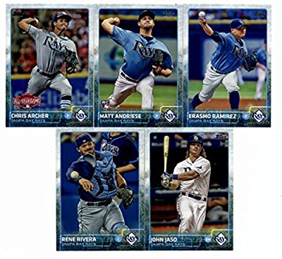 2015 Topps Baseball Cards Tampa Bay Rays Complete Master Team Set (Series 1 & 2 + Update - 30 Cards) With David DeJesus, Alex Cobb, Jake Odorizzi, James Loney, Evan Longoria, Matt Joyce, Chris Archer, Logan Forsythe, Kevin Kiermaier