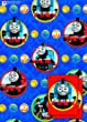 Thomas 2x Gift Wrap Sheets and 2x Gift Tags