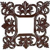 LAKADIARTS Brown Wood Wall Mirror Frame - B01F21A42U