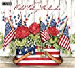 Lang 2017 Old Glory Wall Calendar, 13.375 x 24 inches (17991001934)