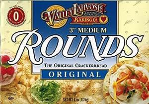 Valley Lahvosh Rounds, 3 inch, 4.5oz