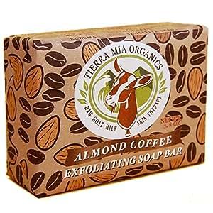 Tierra Mia Organics Tierra Mia Organics Exfoliating Soap Bar Almond Coffee 4.2 oz