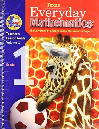 Everyday Mathematics: Teacher's Lesson Guide, Grade 1, Vol. 1 (EM Staff Development) (Staff Development compare prices)