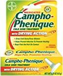 Campho-Phenique Pain Reliever & Antiseptic Gel, Cold Sore Treatment, Maximum Strength