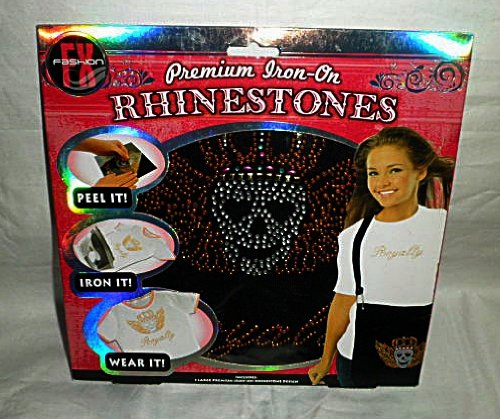 Premium Iron-On Rhinestones Kit -