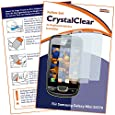 "2 x mumbi Displayschutzfolie Samsung S5570 S5570i Galaxy Mini Displayschutz ""CrystalClear"" unsichtbar"