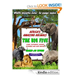 Africa's Amazing Animals - The Big Five - Lions, Leopards, Elephants, Rhino and Buffalo