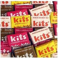 Kits Assorted Original Taffy Chew Squares - 100 Ct. Case
