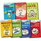 Lincoln Peirce Big Nate Series Collection Lincoln Peirce 7 Books Set (Big Nate on a Roll, Big Nate Goes for Broke, The Boy with the Biggest Head in the World, Big Nate Strikes Again, Big Nate Boredom Buster, Big Nate from the Top, Big Nate Out Loud)