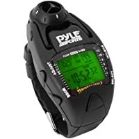 Pyle Sports WaterProof Yacht Timer Sailing Watch with Wind Speed Meter (Black)