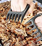 Pulled Pork Claws - Meat Claws for Barbecued Beef, Chicken, Turkey - Shred Meats Like a Bear - Great for BBQ - Best Shredding Tool on the Market - Works in Seconds - Professional Grade - Cook Like a Chef - Satisfaction Guarantee