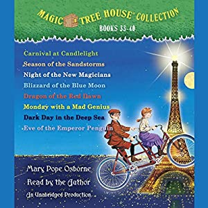 Magic Tree House Collection: Books 33-40 Audiobook
