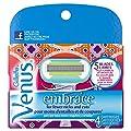 Gillette Venus Embrace Razor Blade Refills, 4 Ct TEJ