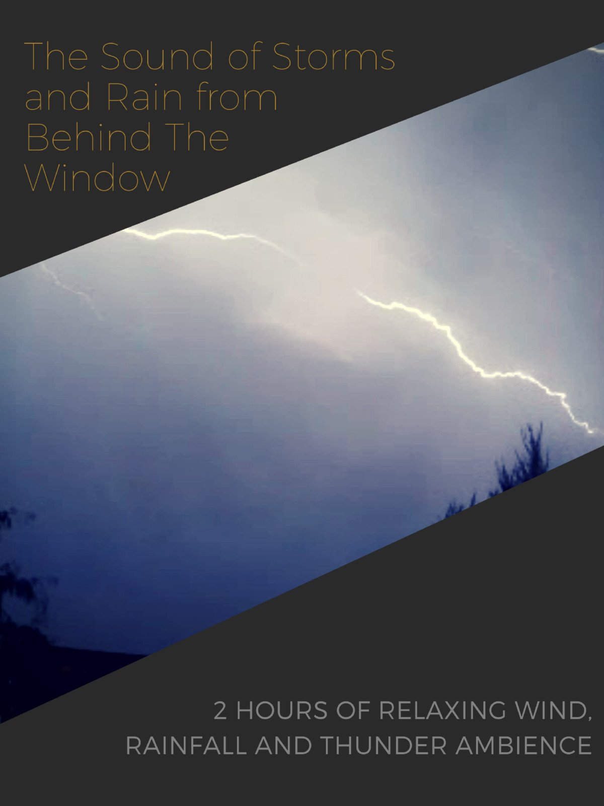 The Sound of Storms and Rain from Behind The Window on Amazon Prime Instant Video UK