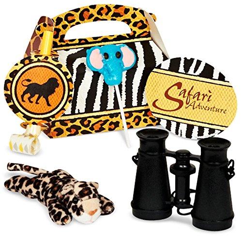 Safari Adventure Party - Party Favor Box